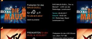 Die_Maus_Stern-TV_Freikarten
